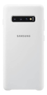 Funda Silicona Original Samsung S10 Plus White