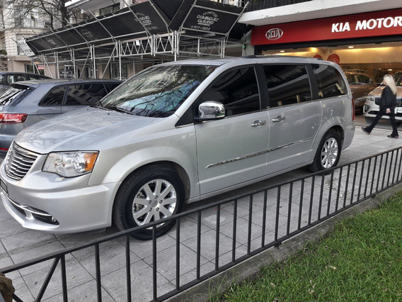 Chrysler Town & Country A/t 3.6l 286 Hp Blindada Rb3