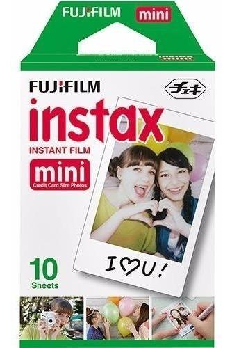 Filme Instantâneo Instax Mini - Pack Com 10 Fotos