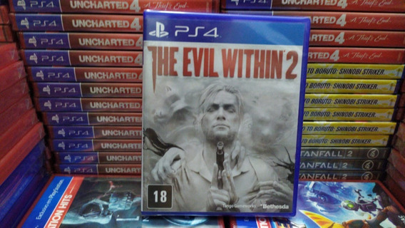 The Evil Within 2 Ps4 Português Mídia Física Lacrado Origina