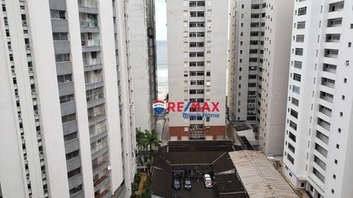Kitnet À Venda, 35 M² Por R$ 205.000,00 - Praia Das Pitangueiras - Guarujá/sp - Kn0005
