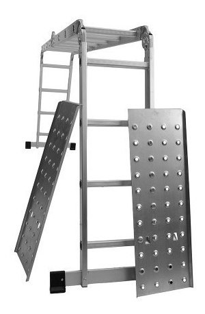 Escalera Art Multifuncion 16 Es + Plataforma 18 Cuotas S/int