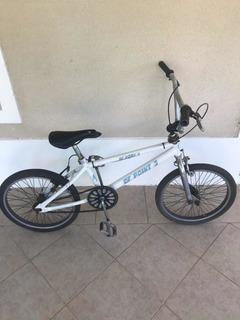 Bicicleta Baja Blanca Usada De Df Point 3