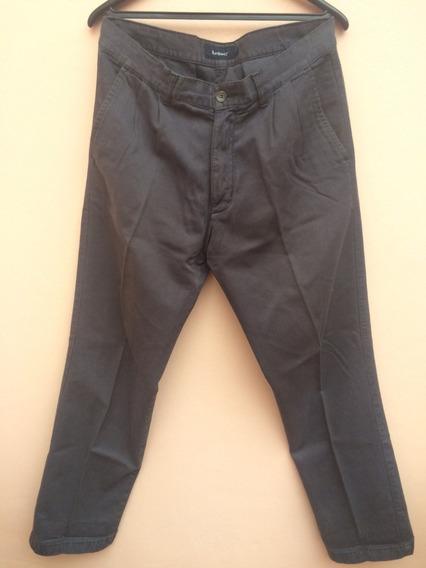 Pantalon De Vestir Hombre Legacy Azul Pinzado Talle 34 O 44