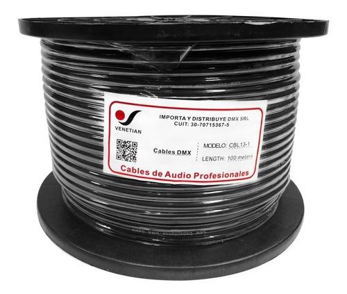 Venetian Cbl13-1 Cable Dmx 120 Ohms Luces X Metro