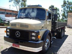 Mercedes-benz 1518 Ano 89/89 Turbo Reduzido Com Carroceria