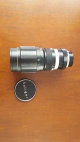 Lente Fotográfica Tele-auto I:5.5 F=300mm Soligor Com Estojo
