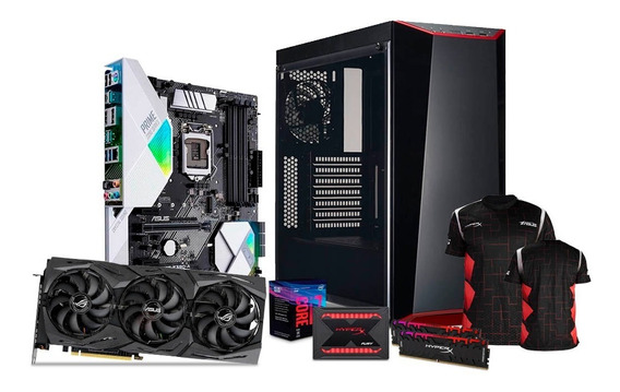 Computadora Pc Gamer Rtx 2080 I7 Ssd 240gb Hdd 1tb Ram 16gb