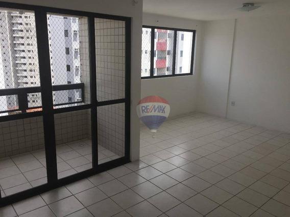 Apartamento Com 3 Dormitórios À Venda, 88 M² Por R$ 430.000,00 - Torre - Recife/pe - Ap0144