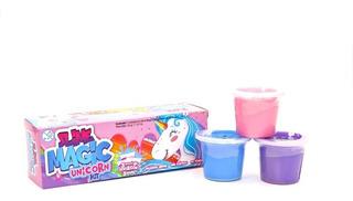 Slime Magic Unicornio - Kit Masa Moldeable