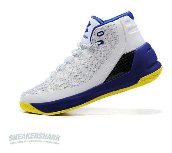 Under Armour Curry 3 Warriors Envio Inmediato Sneakershark