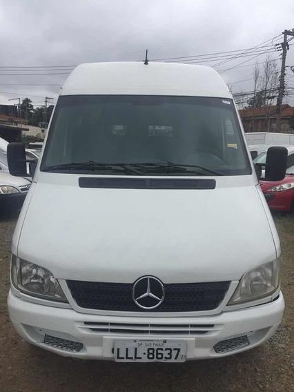 Mercedes-benz Sprinter/ Microonibus-16l, Com A/c.2011.