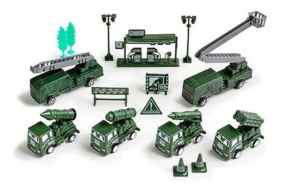 Kit Miniaturas Exército Forças Armadas Play Machine