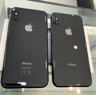 2 Aparelhos - iPhone X Apple, Não Funciona, Sucata P/ Peças.