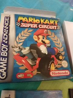 Caja Y Manuales Mario Kart Super Circuit