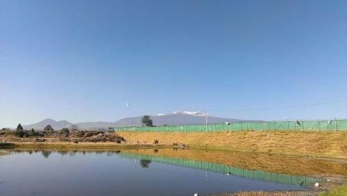 Terreno En Venta Con Lago Y Vista Increíble Al Nevado De Toluca, Escriturado.