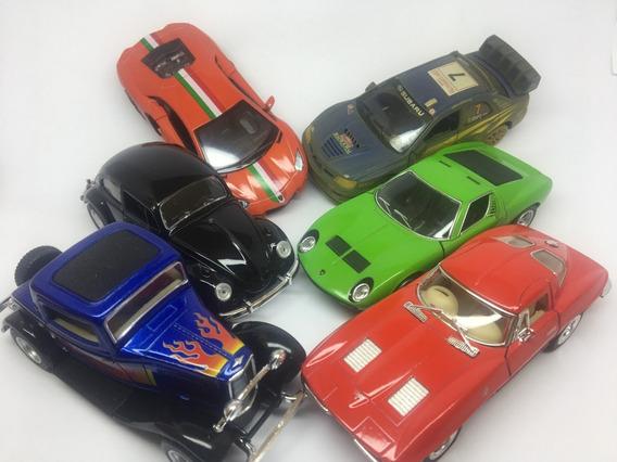 Kit 5 Unidades De Miniatura Modelos Variados, Escala 1/38