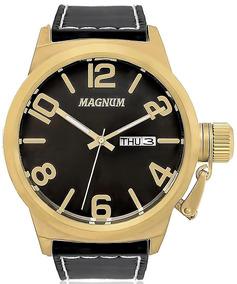 Relógio Magnum Masculino Couro - Ma33406p