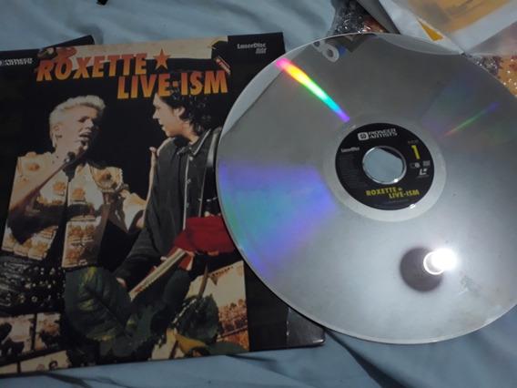 Roxette Live Ism Láser Disc Made Usa