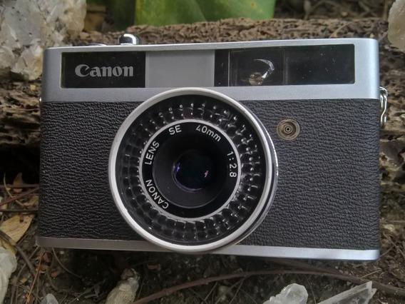 Canon Analógica Canonet Junior - 1963 -funcionando