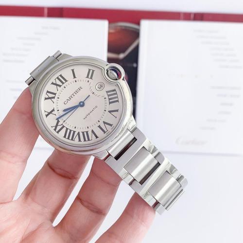 Cartier Ballon Bleu Xl Automático Completo Impecável