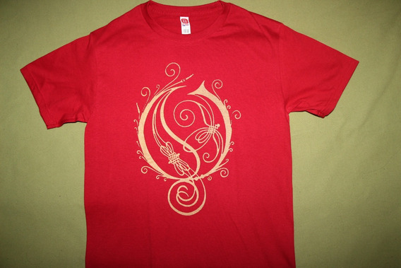 Gusanobass Playera Rock Metal Opeth Prog Logo Talla X L