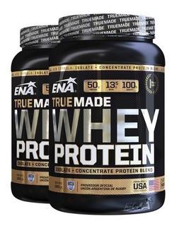 Whey Protein Ena True Made X Kilo Proteina Varios Sabores Chocolate Crema Cookies Strawberry