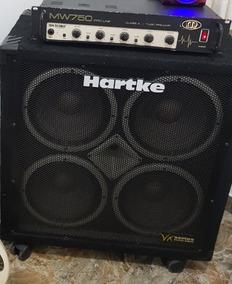 Caixa Hartke E Cabeçote Meteoro Mw750 Valvulado