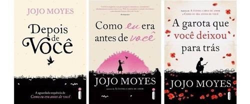 Kit Jojo Moyes - Como Eu Era Antes De Você + 2 Livros