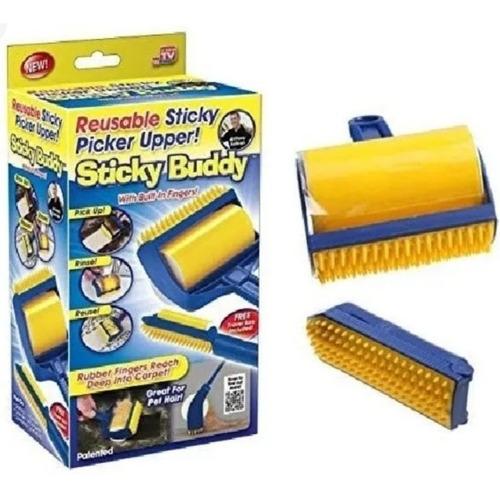 Sticky Buddy Rodillo Cepillo Quita Pelusa Reutilizable Nuevo