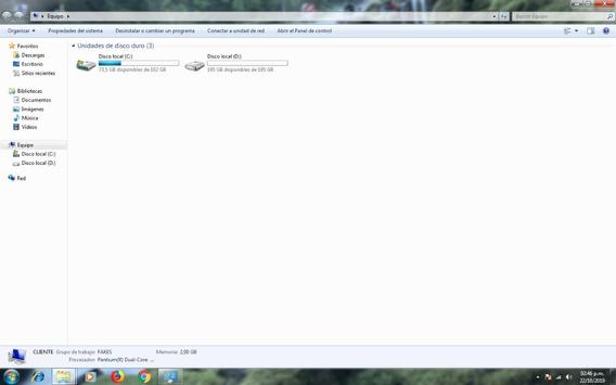 Pc Escritorio Dual Core 3.20ghz 2gb 300gb + Monitor + Mouse