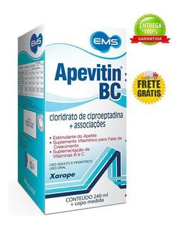 Estimulante Apetite Engordar Apevitin Bc Ganhe Peso