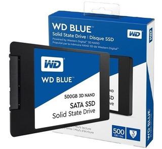 Disco Solido Wd Blue 3d Nand Sata Ssd 500gb