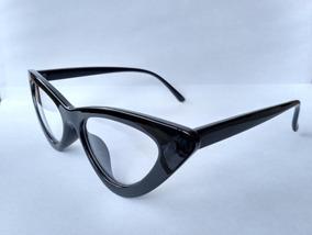 6cd4f4a43 Armacao Óculos Gatinho Anos 70 Puxadinho + Case Caixinha
