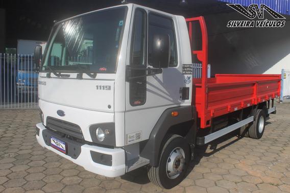 Ford Cargo 1119 - Carroceria - Ano: 2017 - Km Baixo