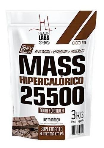 Mass 25500 3kg Hipercalorico Healt Labs