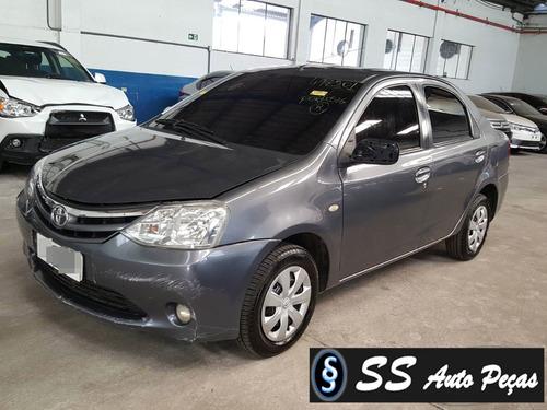 Imagem 1 de 2 de Sucata De Toyota Etios Sedan 2013 - Retirada De Peças