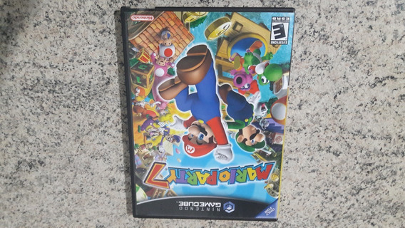Jogo Original Nintendo Game Cube Mario Party 7
