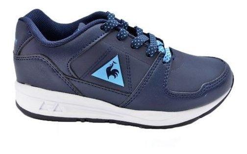 Zapatillas Lcs R300 Syn Azul Niños Le Coq Sportif