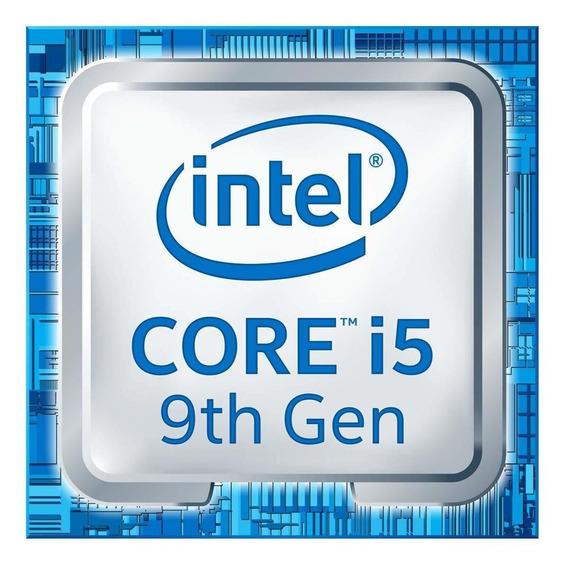 Processador gamer Intel Core i5-9600KF BX80684I59600KF de 6 núcleos e 4.6GHz de frequência