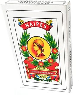 Naipe Baraja Española Cartas Españolas Juegos De Mesa