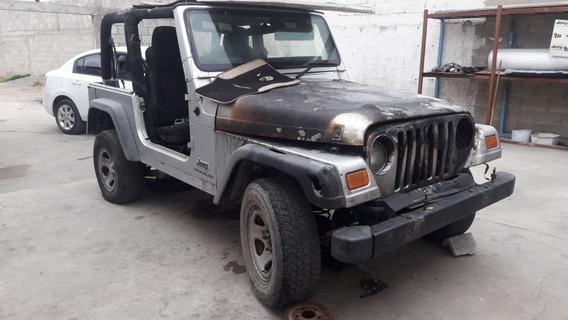 Desarmo Jeep Wrangler 01 02 Y 05 4.0 Std Y Aut