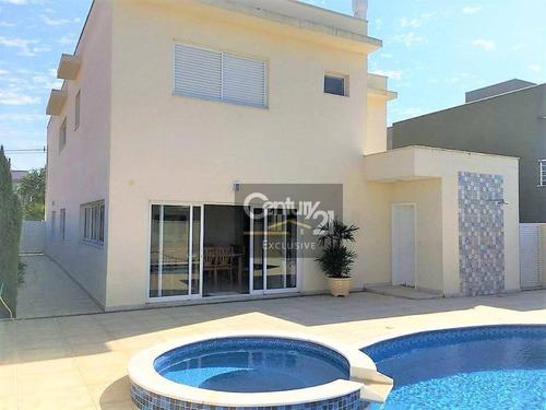 Imagem 1 de 30 de Casa À Venda, 392 M² Por R$ 1.600.000,00 - Condomínio Helvétia Park - Indaiatuba/sp - Ca0332