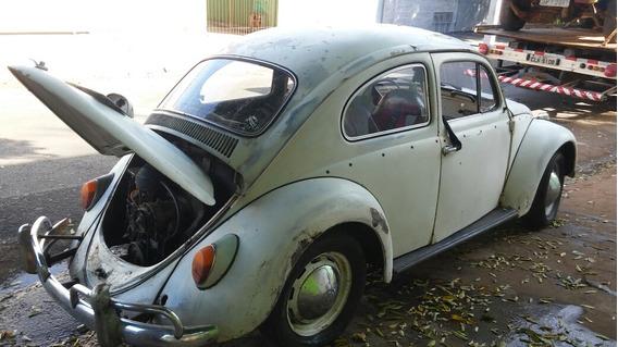 Volkswagen Fusca Ano 67 Andando Com Documento Atrasado
