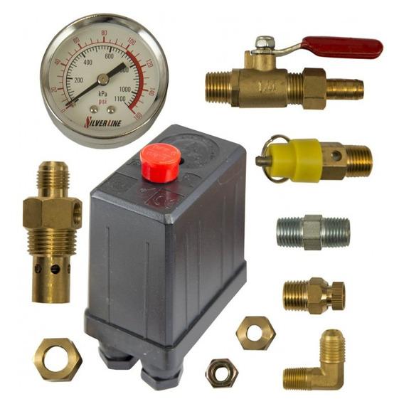 Automatico Presion Control Aire Furnas 1/2-3/4 Silverline