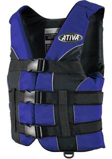 Colete Salva Vidas Ativa Gg- Homologado Marinha- Acima 110kg