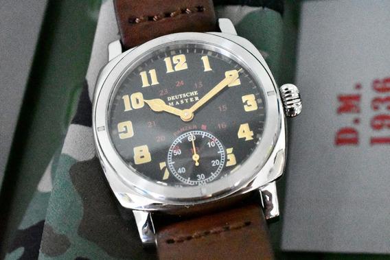 Relógio Militar Deutsche Master 1.936 - Vintage - Alemão