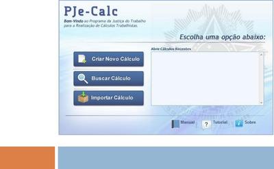 Passo A Passo Pjecalc - Pje Calc