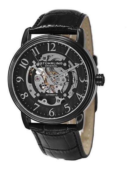 Reloj Automático Correa Cuero Genuino 970.04 Stührling