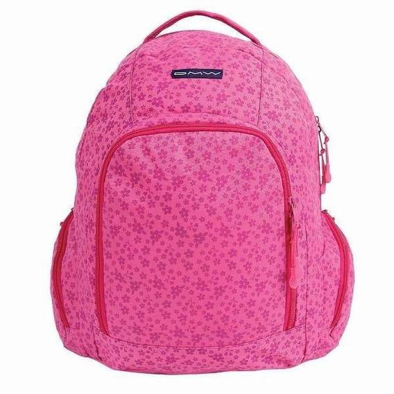 Mochila De Costas Juvenil Dmw Liberty Pink